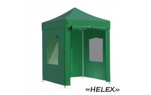 Тент-шатер быстросборный Helex 4220 2х2х3м полиэстер зеленый