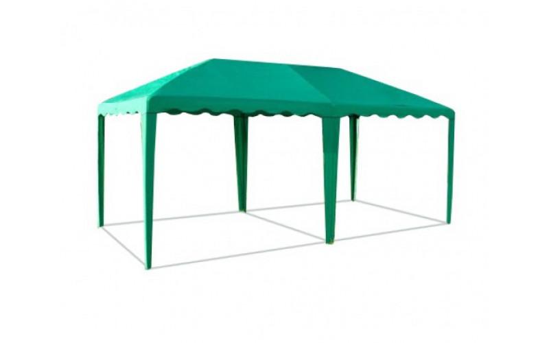 Шатер-беседка 5,0 х 2,5 зеленая