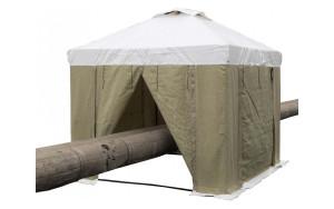 Палатка сварщика 2.5 х 2.5 (ПВХ+брезент)