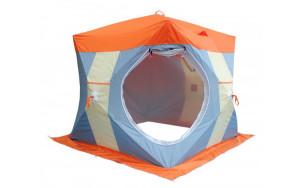 Нельма Куб-2 Люкс палатка для зимней рыбалки с внутренним тентом